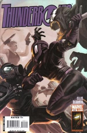 THUNDERBOLTS (1997) #120