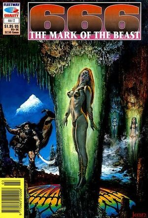 666 THE MARK OF THE BEAST (1991) #12
