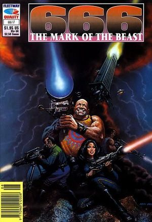 666 THE MARK OF THE BEAST (1991) #17