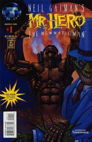 MR. HERO THE NEWMATIC MAN (1995) #1