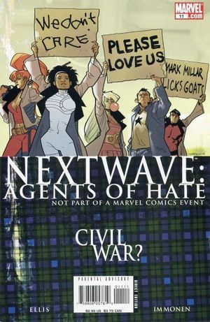 NEXTWAVE AGENTS OF HATE (2006) #11