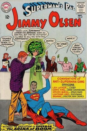 SUPERMAN'S PAL JIMMY OLSEN (1954) #87
