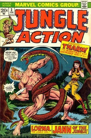 JUNGLE ACTION (1972 MARVEL)  #3