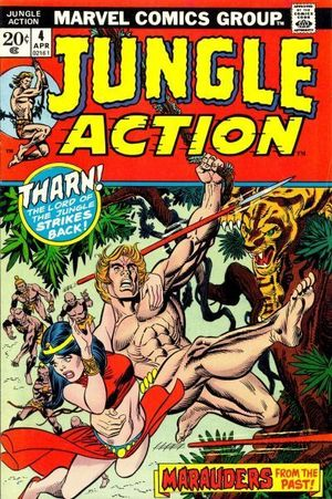 JUNGLE ACTION (1972 MARVEL)  #4