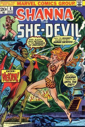 SHANNA THE SHE-DEVIL (1972 1ST SERIES) #5