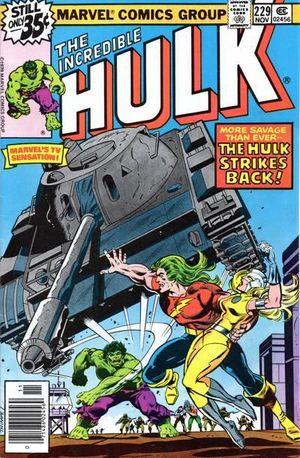 INCREDIBLE HULK (1962-1999 1ST SERIES) #229