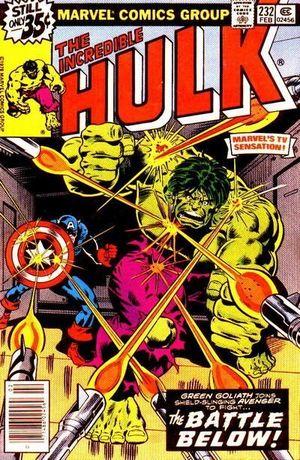 INCREDIBLE HULK (1962-1999 1ST SERIES) #232