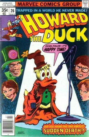 HOWARD THE DUCK (1976 1ST SERIES) #26