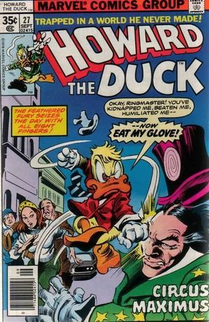 HOWARD THE DUCK (1976 1ST SERIES) #27