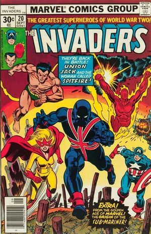 INVADERS (1975 1ST SERIES) #20