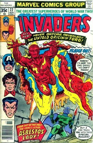 INVADERS (1975 1ST SERIES) #22