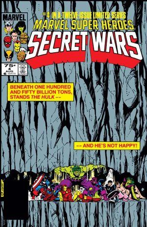 MARVEL SUPER HEROES SECRET WARS (1984) #4