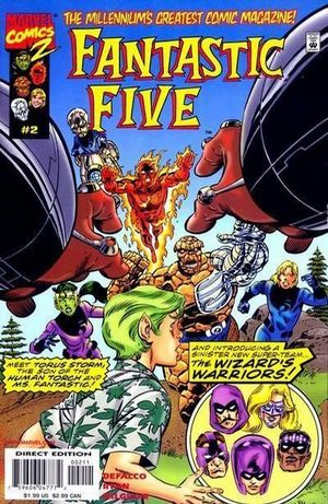 FANTASTIC FIVE (1999 1ST SERIES) #2