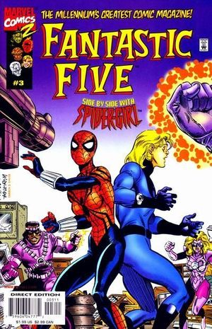FANTASTIC FIVE (1999 1ST SERIES) #3