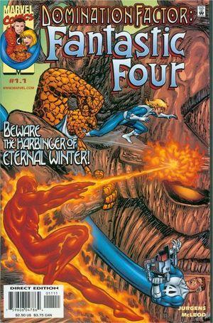 DOMINATION FACTOR AVENGERS/FANTASTIC FOUR (1999) #1-8