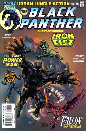 BLACK PANTHER (1998 MARVEL 2ND SERIES) #17