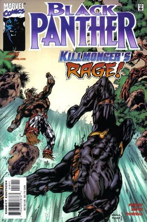 BLACK PANTHER (1998 MARVEL 2ND SERIES) #18