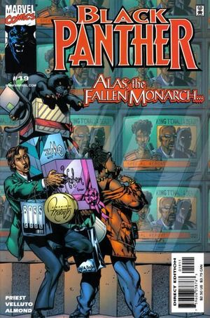 BLACK PANTHER (1998 MARVEL 2ND SERIES) #19
