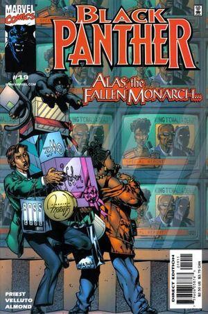 BLACK PANTHER (1998 MARVEL 2ND SERIES) #19