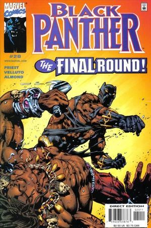 BLACK PANTHER (1998 MARVEL 2ND SERIES) #20