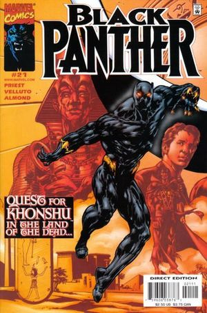 BLACK PANTHER (1998 MARVEL 2ND SERIES) #21