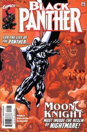 BLACK PANTHER (1998 MARVEL 2ND SERIES) #22