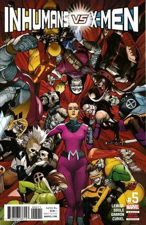 INHUMANS VS X-MEN (2016) #5