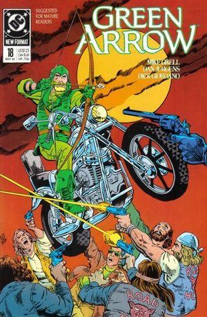 GREEN ARROW (1987 1ST SERIES) #18