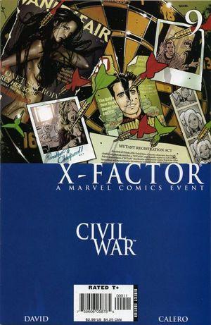 X-FACTOR (2005 3RD SERIES) #9