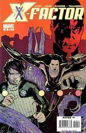X-FACTOR (2005 3RD SERIES) #10