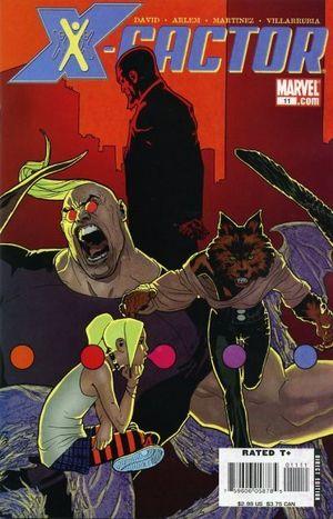 X-FACTOR (2005 3RD SERIES) #11