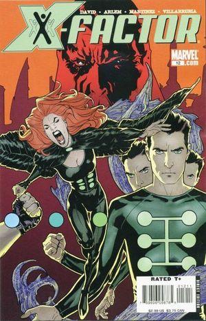 X-FACTOR (2005 3RD SERIES) #12