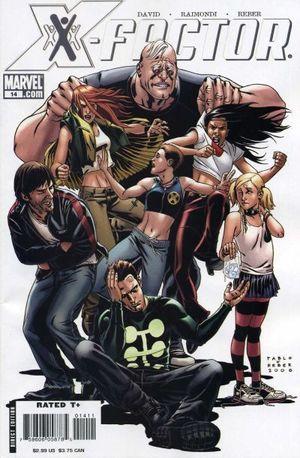 X-FACTOR (2005 3RD SERIES) #14