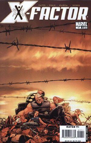 X-FACTOR (2005 3RD SERIES) #17