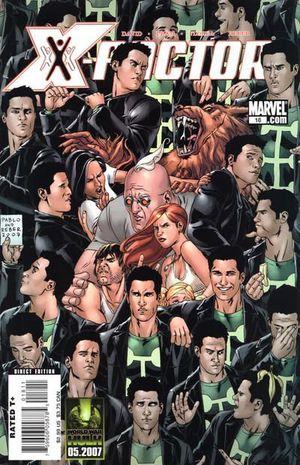 X-FACTOR (2005 3RD SERIES) #18
