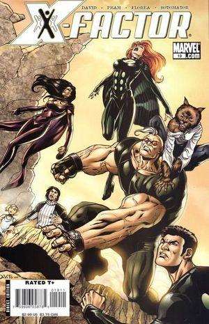 X-FACTOR (2005 3RD SERIES) #19