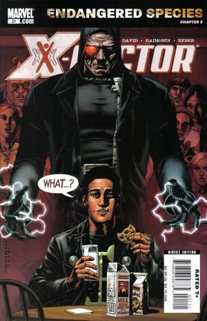 X-FACTOR (2005 3RD SERIES) #21