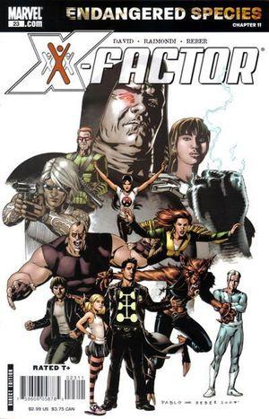X-FACTOR (2005 3RD SERIES) #23