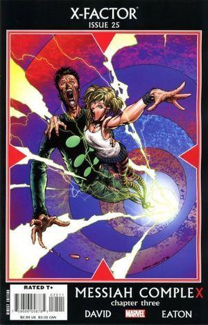 X-FACTOR (2005 3RD SERIES) #25