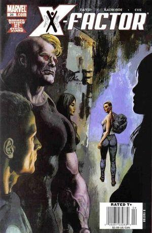 X-FACTOR (2005 3RD SERIES) #28