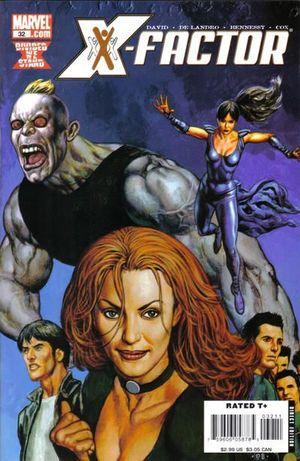 X-FACTOR (2005 3RD SERIES) #32