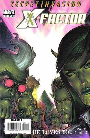 X-FACTOR (2005 3RD SERIES) #33