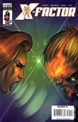 X-FACTOR (2005 3RD SERIES) #35