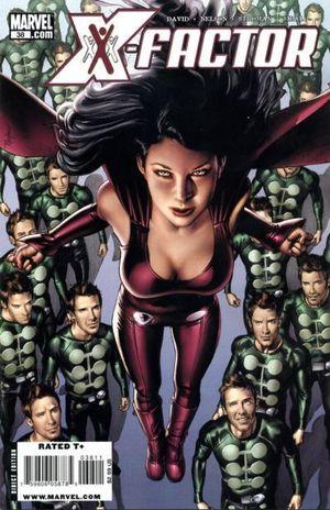X-FACTOR (2005 3RD SERIES) #38