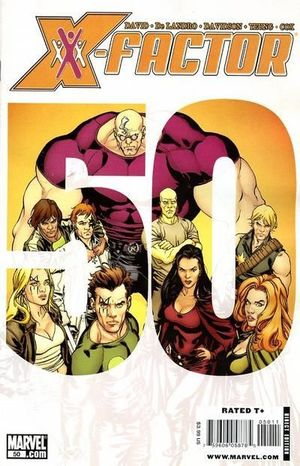X-FACTOR (2005 3RD SERIES) #50