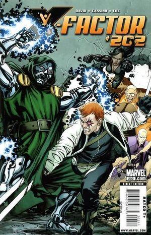 X-FACTOR (2005 3RD SERIES) #202
