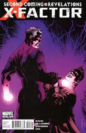 X-FACTOR (2005 3RD SERIES) #205