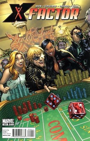 X-FACTOR (2005 3RD SERIES) #209