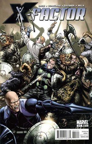 X-FACTOR (2005 3RD SERIES) #211
