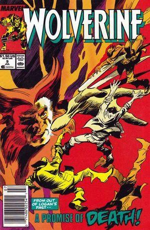 WOLVERINE (1988 1ST SERIES) #9